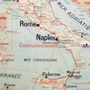 Map of Naples - Italy